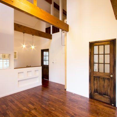 心地よい空気感を楽しむナチュラル住宅