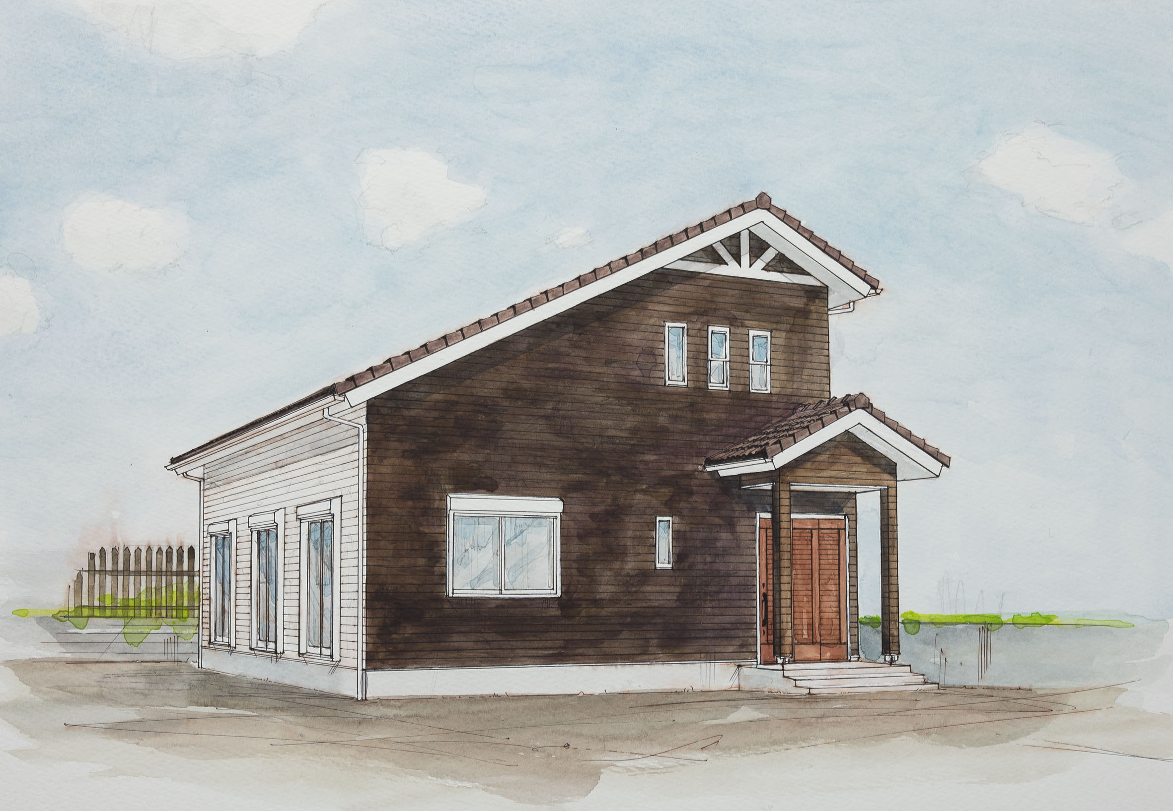 内田智之邸