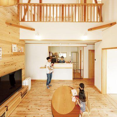 暑い・ジメジメした夏を快適に暮らす!40坪の自然素材住宅~家族に優しく安心なお家を造りました~